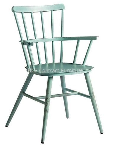 Heritage Arm Chair Retro Light Blue (P)