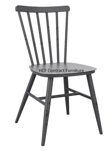 Heritage Side Chair Vintage Dark Grey (P)