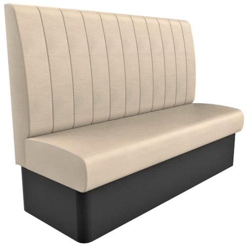High Back - 3 Seater Kansas Fluted - 1650mm Booth