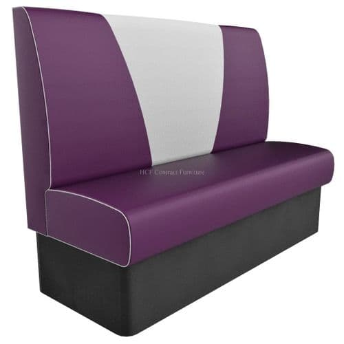 High Back V Style 3 Seater - 1500MM Booth