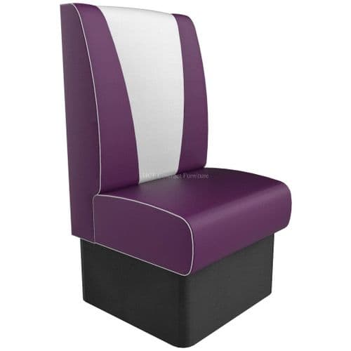 High Back V Style Seater - 600MM Booth