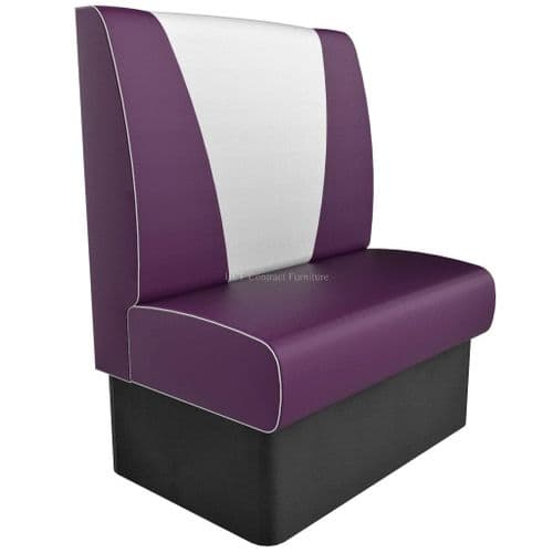 High Back V Style Small 2 Seater - 900MM Booth