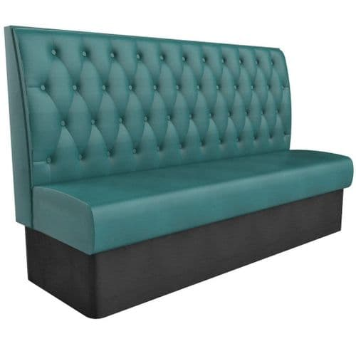 Kansas Buttoned High Back - 3 - 4 Seater - 1800mm Booth