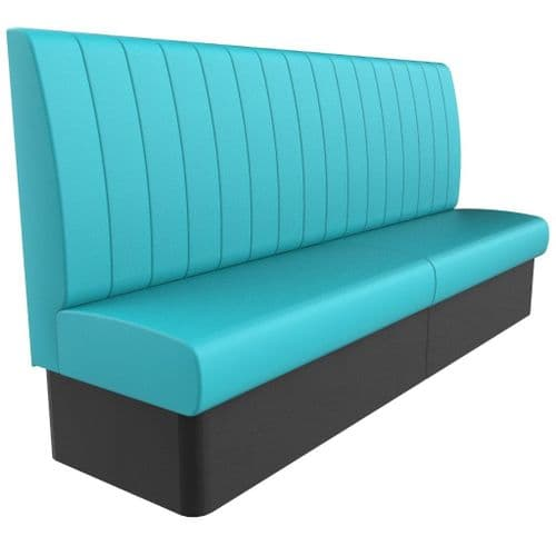 Kansas Fluted Back Banquette/Booth Seating - High Back