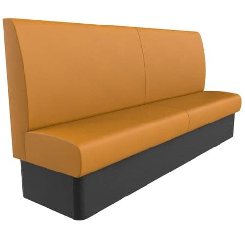 Kansas Plain Back Banquette/Booth Seating - High Back