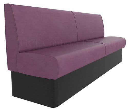 Kansas Plain Back Banquette/Booth Seating - Standard Height