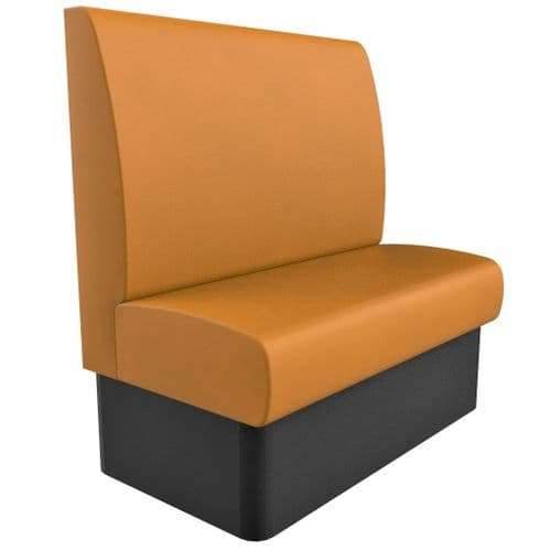 Kansas Plain High Back - 2 Seater - 1050mm Booth