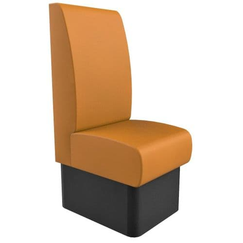 Kansas Plain High Back - Single Seater - 450mm Booth