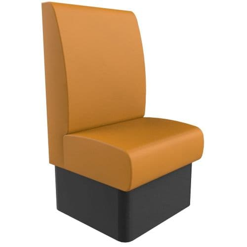 Kansas Plain High Back - Single Seater - 600mm Booth