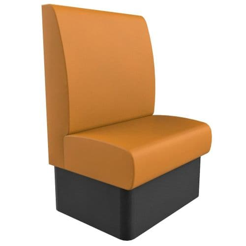 Kansas Plain High Back - Single Seater - 750mm Booth