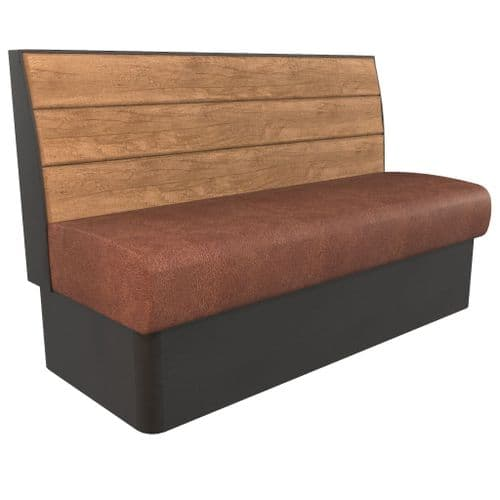 Kansas Plank 3 Seater - 1500mm Booth