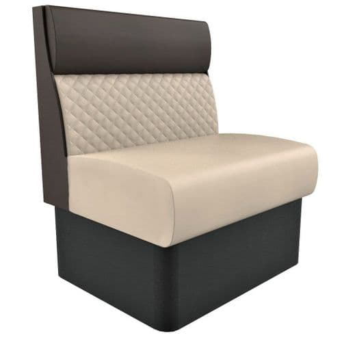 Kansas Quilted Standard Height - Single - 600mm Booth