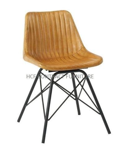 Larch Vintage Side Chair - In Stock (P)