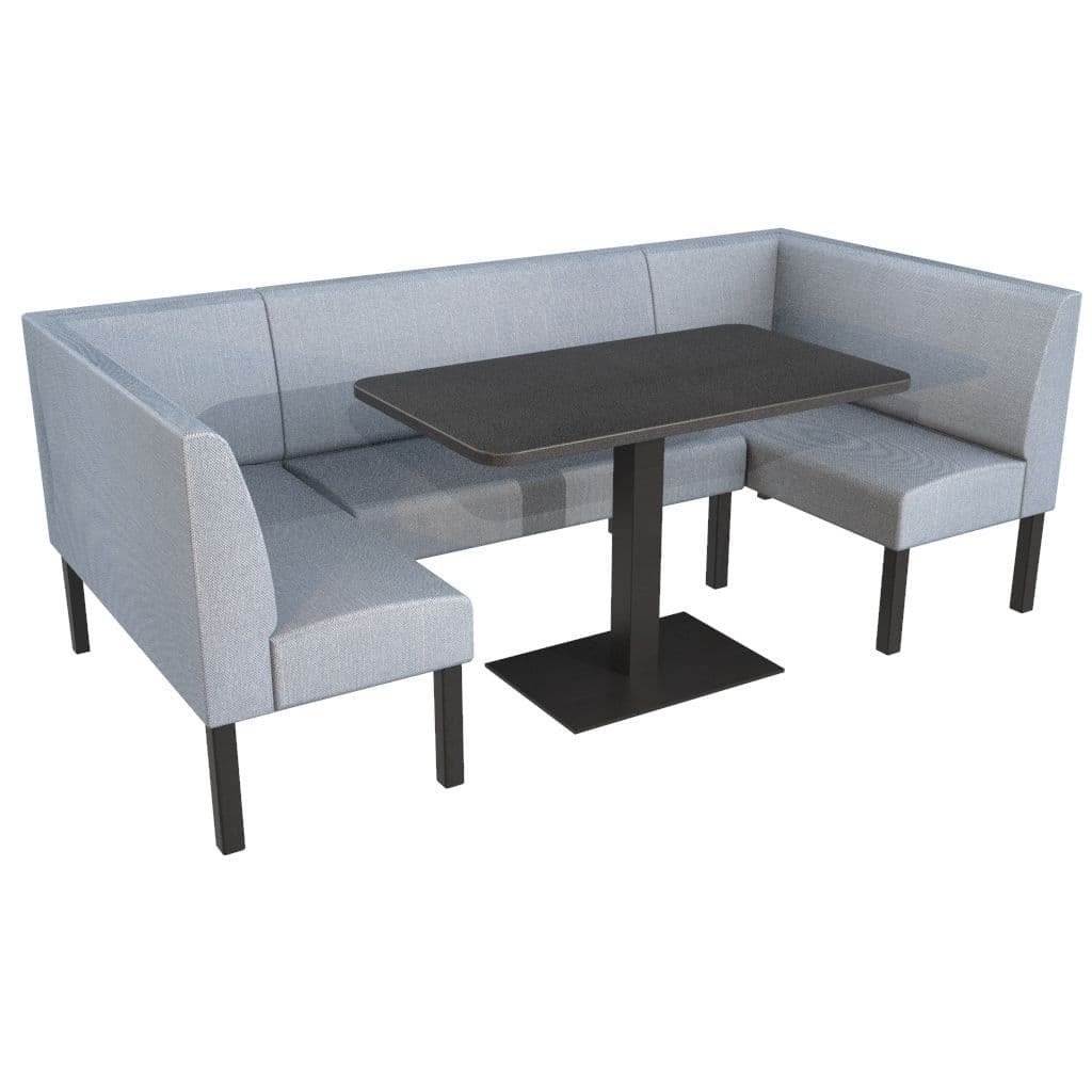 Large Dining Booth Set Includes Table, Booth Dining Room Table