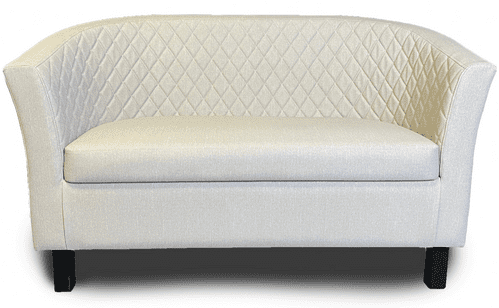 Lifetime OUTDOOR - Quilted Back.  Monaco Tub Style Sofa . Upholstery in 4 Colours