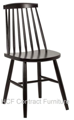 Lucca Side Chair (O)-RAL COLOURS/WOOD STAINES-MADE TO ORDER