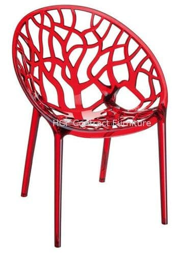 Marco Armchair - Red (P)