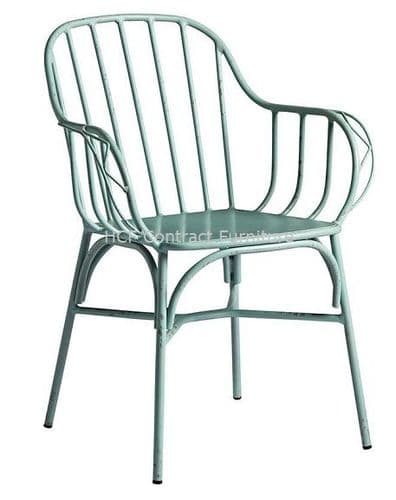Metz Arm Chair  Retro Light Blue (P)