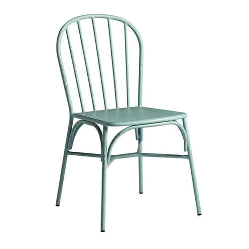Metz Side Chair  Retro Light Blue  (P)