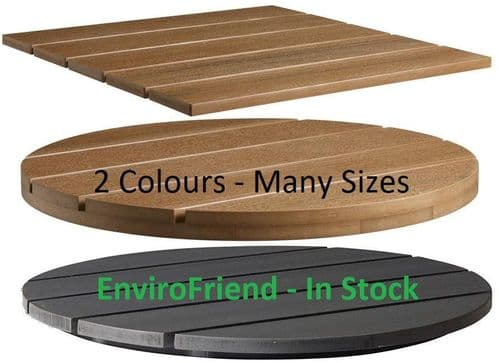 Outdoor EnviroFriend - Recycled Wood Effect Table Tops