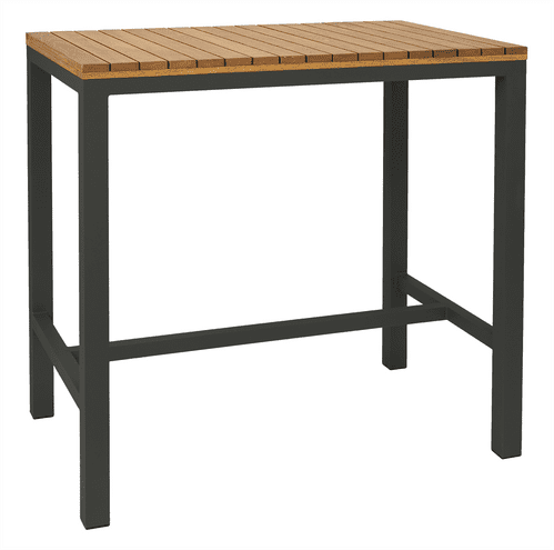 Piero 1200mm x 750mm Oiled Bar Table