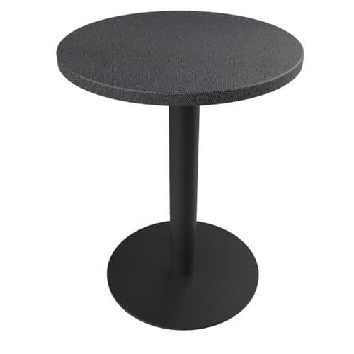 Rhinotop 600mm dia Round  Complete Table Top with Base. Outdoor or Indoor use.
