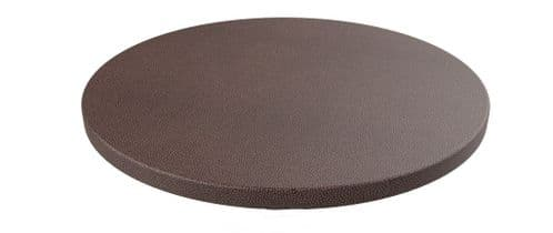 Rhinotop 600mm dia Round Table Top for use with your own Base. Outdoor or Indoor