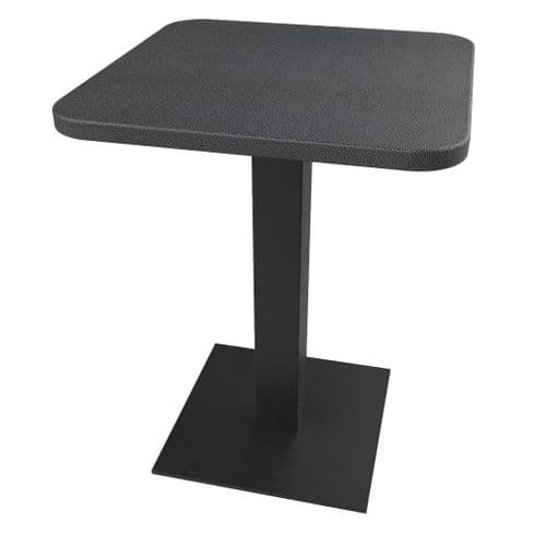 Rhinotop 600mm x 600mm  Complete Table Top with Base. Outdoor or Indoor use.