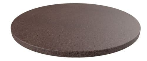 Rhinotop 800mm dia Round Table Top for use with your own Base. Outdoor or Indoor