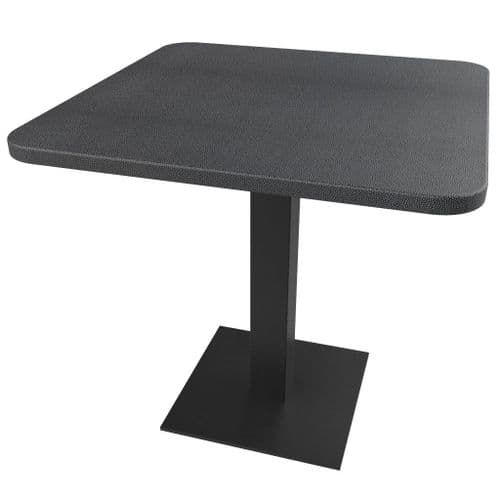 Rhinotop 800mm x 800mm  Complete Table Top with Base. Outdoor or Indoor use.