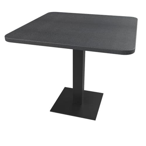 Rhinotop 900mm x 900mm  Complete Table Top with Base. Outdoor or Indoor use.