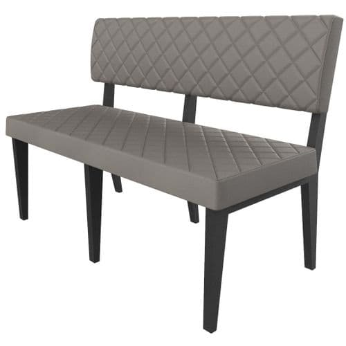 Simplicity Deluxe Quilted -  Booth Seating  -       1200mm Wide Unit
