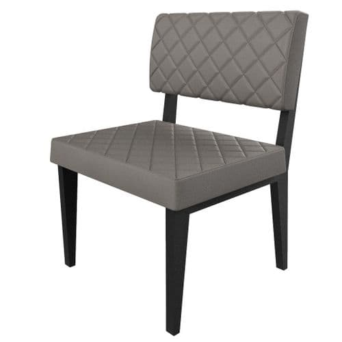 Simplicity Deluxe Quilted - Straight Booth Seating  -       600mm Wide Unit