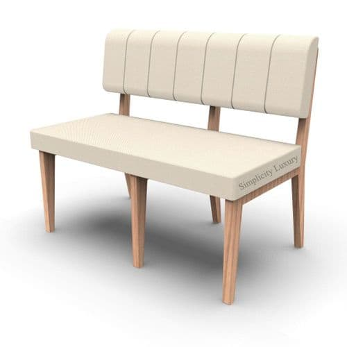 Simplicity Luxury - Straight Booth Seating  -       1050mm wide Unit