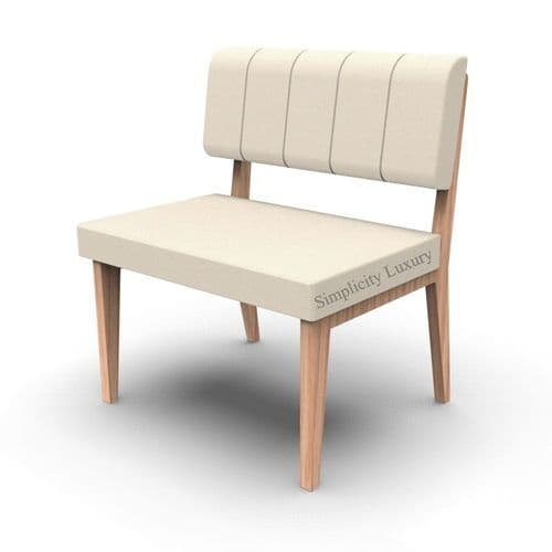 Simplicity Luxury - Straight Booth Seating  -       750mm wide Unit