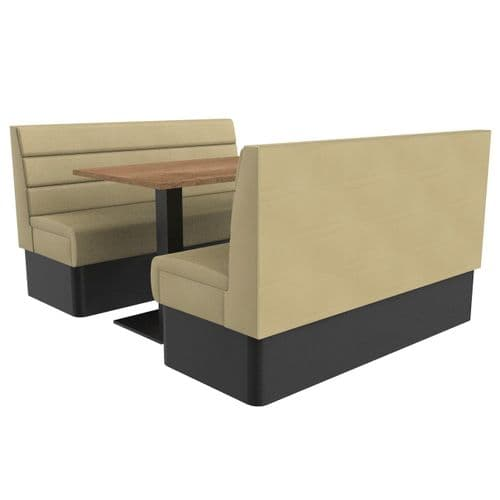 Supreme Horizon Standard Height - 6 Seater Booth Set