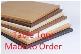 Table Tops - Made to Order