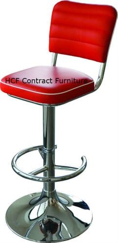 Texas HCF Q63a Swivel Stool SEVERE CONTRACT USE