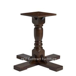 Traditional Pub Style Table Bases - Wooden