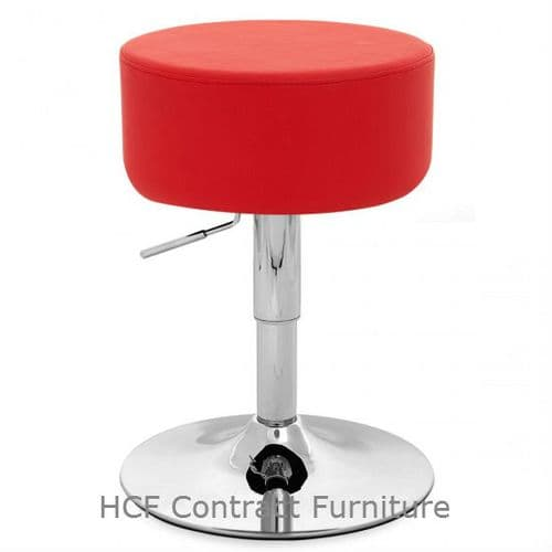 TTF-R 128 Retro Chrome Bar Stool-Chair Height(A) IN STOCK