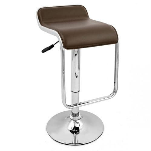 TTF162 Black & Chrome Bar Stool