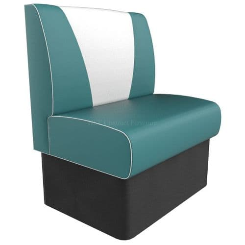 V Back Single Seater - Large 750MM Booth