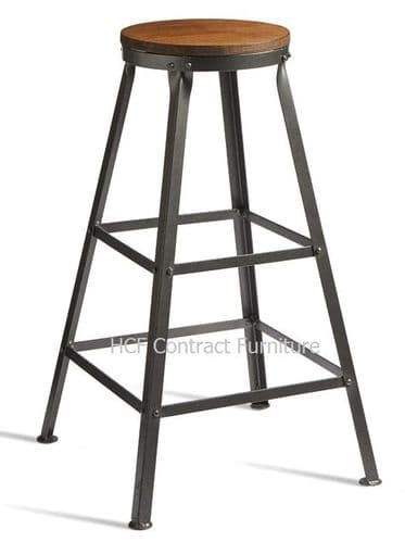 Vintage/Industrial/Distressed Bar Stools - IN STOCK