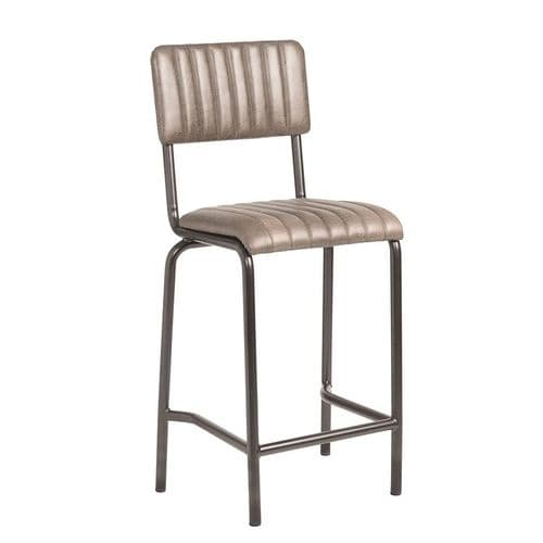 Vintage/Industrial/Distressed Mid Bar Stools - IN STOCK
