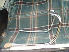 71-2636/7,Exhaust pipes, balanced, 650s 1971/2