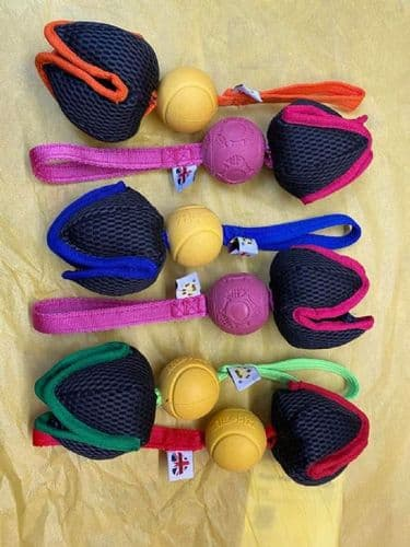 Paws Made ™ Power Paws Pocket™ PetaL Ball -Made for more accurate throwing !