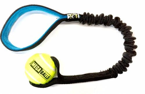 Paws Small or medium Tennis Bungee Tug - 50 cm total length