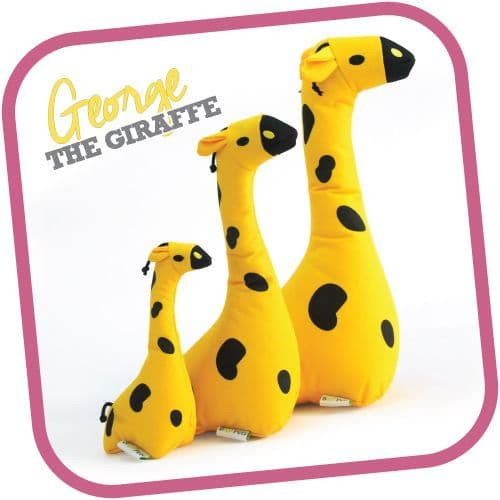 Beco Family George The Giraffe Soft and Cuddly Toy For Dogs