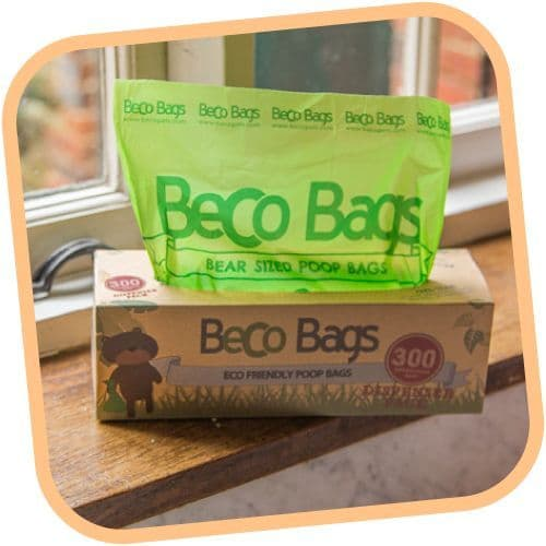 Beco Pets Eco Friendly Recycled Degradable  Beco Dog Poop Poo Bags 300 Dispenser  (Single Roll)