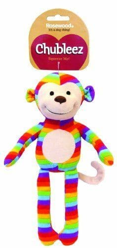 Chubleez Sonny Monkey Soft Plush Bright Toy